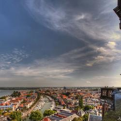 Uitzicht over Dordrecht