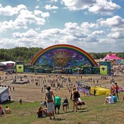 Tomorrowland Mainstage overdag