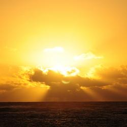 Hemelse zonsopgang
