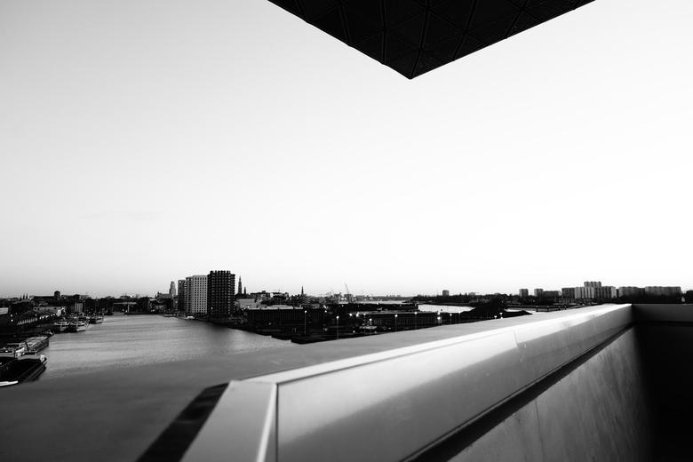 Antwerpen - Havenhuis - Uitzicht vanaf mijn werkplek, het Havenhuis van Antwerpen. Genomen tijdens een rondleiding voor personeel en aanhang. Zicht op