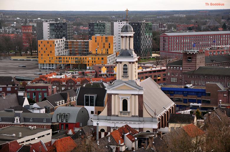 1212292887mw - toen de OLV kerk door de Protestanten werd overgenomen (gedwongen) gingen de katholieken naar schuilkerken (zie OLheer op solder te A.d