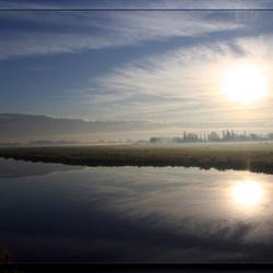 De polder mist ....
