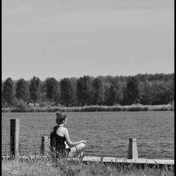 Mediteren aan het water