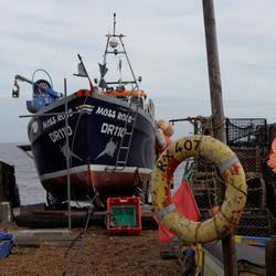 Vissersboot in Deal