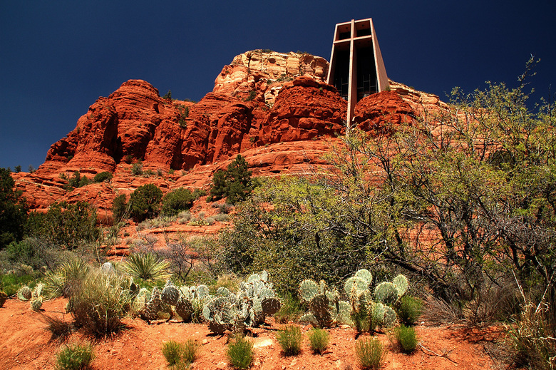 Chapel of the Holy Cross (Sedona, Arizona) - Chapel of the Holy Cross (Sedona, Arizona, USA).<br />