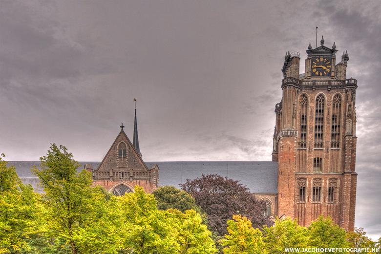 Dordrecht - II - De Grote Kerk te Dordrecht.<br /> <br /> Niet 100% volgens planning uitgevoerd!