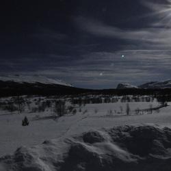 Sneeuw op Valdrsflya