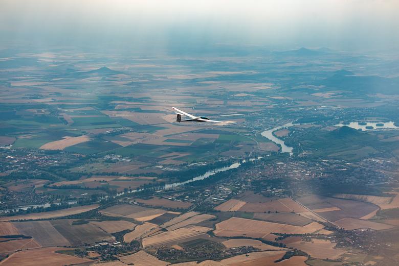 Zweefvliegvakantie - Zweefvliegkamp in Tsjechië, 300 km gevlogen Noord van Praag