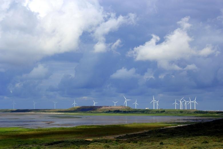 Duurzame energie - Deze foto heb ik gemaakt bij Oostvoorne.