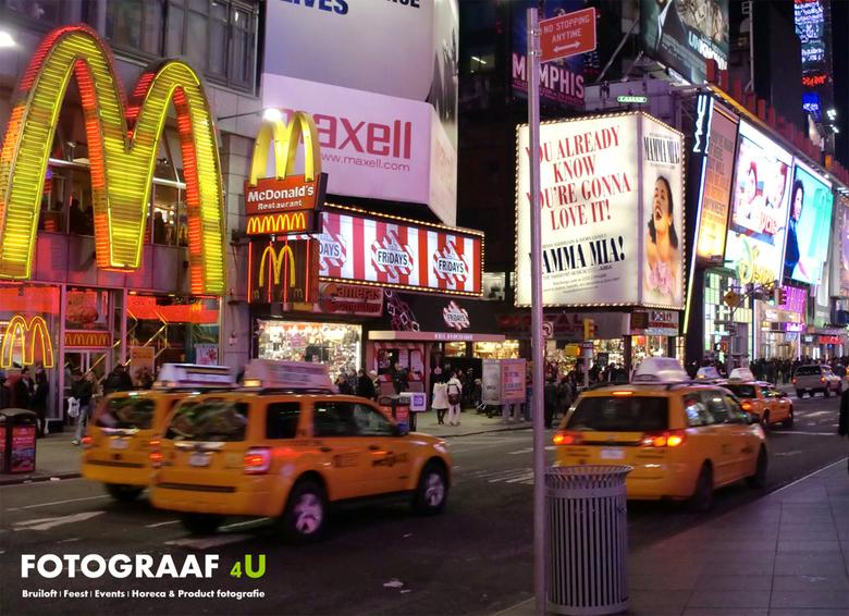 Fotograaf4U New York City (Nachtshot) - New York City By Night (nachtshot)