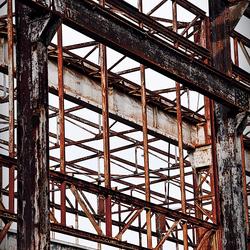 deel dakconstructie oude Stork Hengelo O