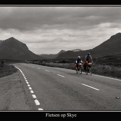 Bewerking: Fietsen op Skye