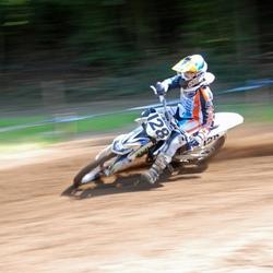 Motorcross actie