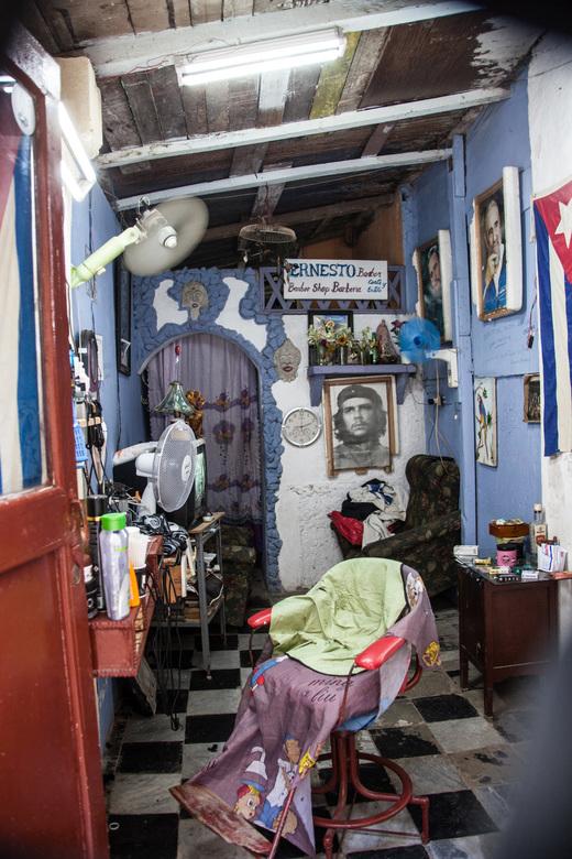 barbier in Cuba -