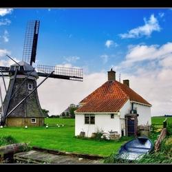 Hollands polder nostalgie