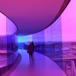ARoS museum Aarhus panorama
