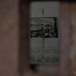 In de bunker Batterie d'Azeville