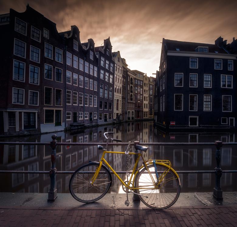 The yellow bike