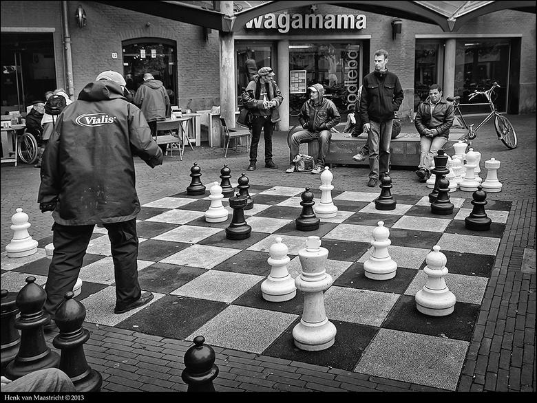 Chess - ergens in Amsterdam