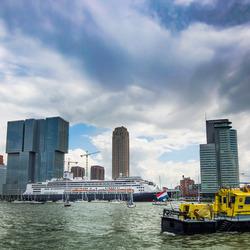 Voor vertrek De Rotterdam