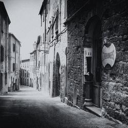 A street in Volterra