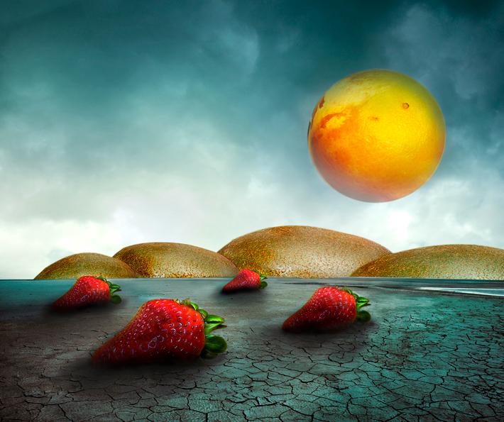 """. . . fruitscape . . .  - . . . <br /> <br /> deze bewerking is gemaakt naar aanleiding van een Shop Uitdaging <a href=""""http://www.shootnshop.nl/sho"""