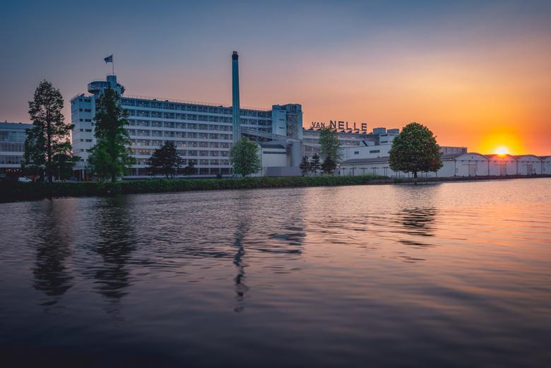 Van Nelle Fabriek - De voormalige Van Nelle Fabriek in Rotterdam.