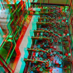 Engine-room CASTOR Rijnhaven Rotterdam 3D