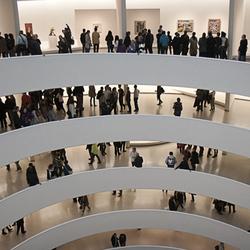 Guggenheim, interieur