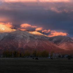 The Taos of sunset 2 - last light