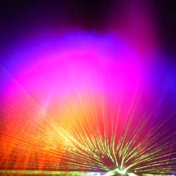 Lichtgevend water