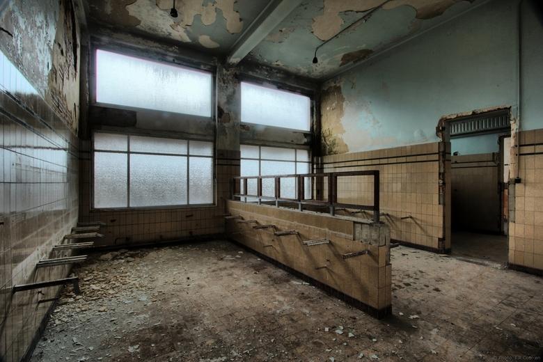 Pasteltinten - Ook deze foto is gemaakt in het sanatorium in België