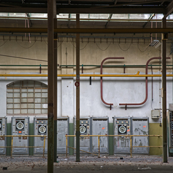 oude verlaten fabriek