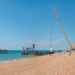 Brighton i360 - beachlanding - 11 June 2015