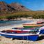 Kleurrijk strand Tarrafal