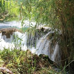Watervallen in Krka