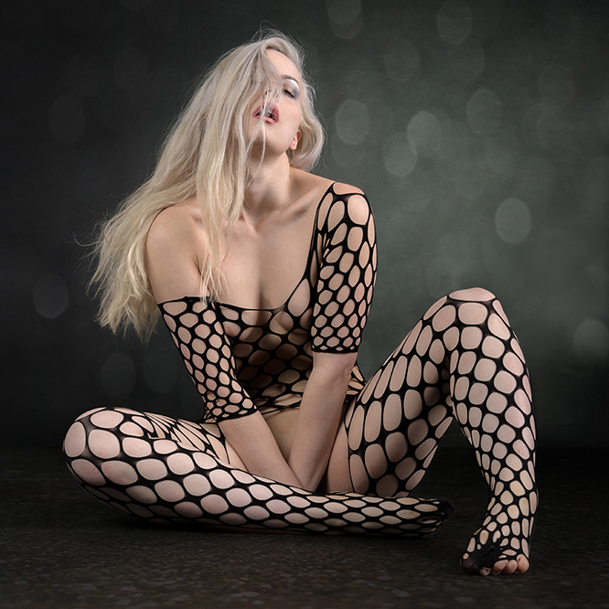 Keira in net suit - Keira Lavelle