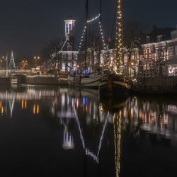 Admiraliteitstad Dokkum in kerstsfeer...