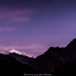Nightsky over the Andes