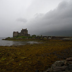 Eilean Donan Castle Naturel