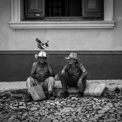 Dagelijks leven in Trinidad Cuba