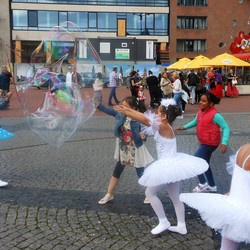Bellenblaas & ballet danseresjes.