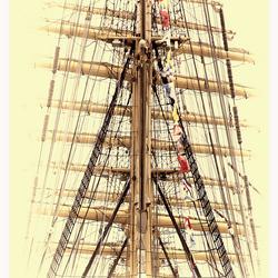 Sail-mast