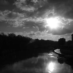 rivier door Rome