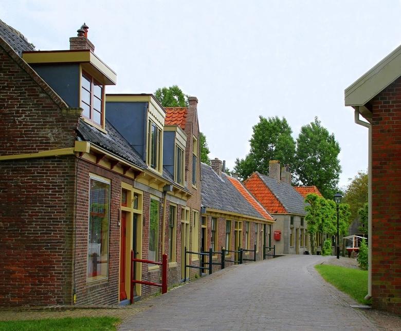 Straatje in het Zuiderzee museum. - Zuiderzee museum