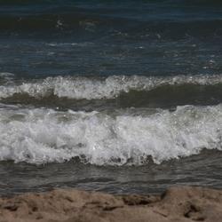 Golven bij  Serignan plage