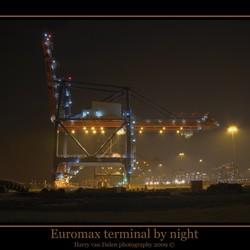 Euromax terminal by night