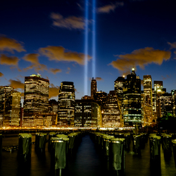 Light Tribute to 9/11 2015