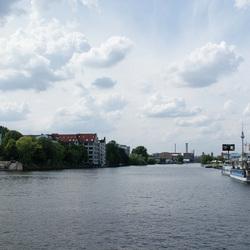 Mooi uitzicht in Berlijn
