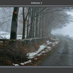 Mist in de Ardennen